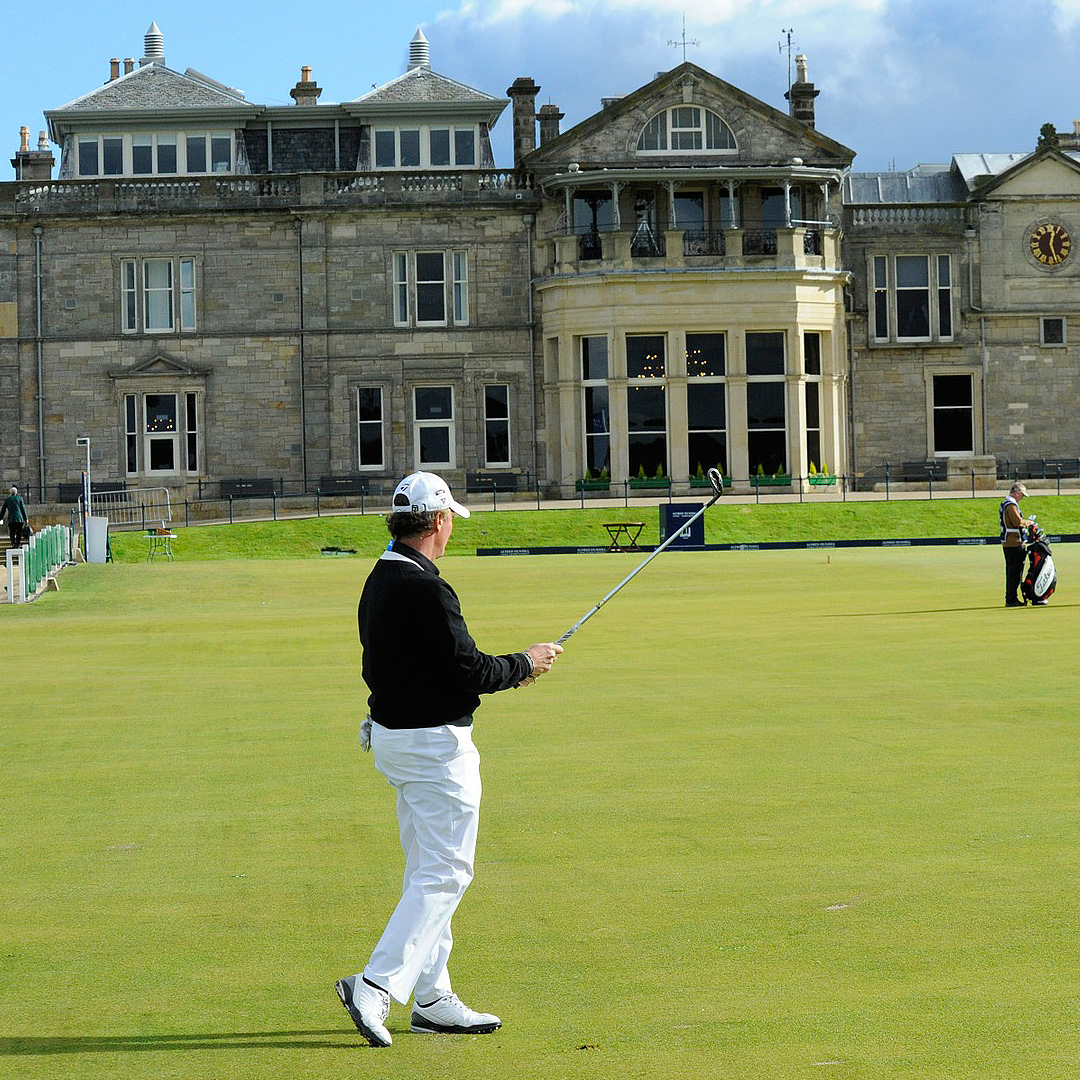 British Open Golf - the course
